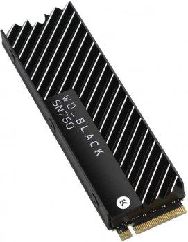 Western Digital Black SN750 NVMe SSD 2TB M. 2 2280 PCIe 3.0 x4 3D NAND (TLC) (WDS200T3XHC)