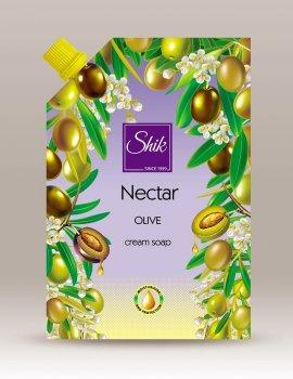 Жидкое крем-мыло Шик Nectar Оливковое 460 мл