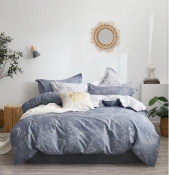 Комплект постельного белья Bella Villa Сатин 200x220 Серый (B-0266 Eu)