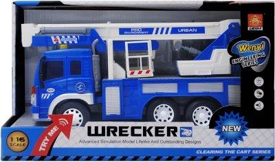 Машинка WenYi Автовышка с фрикционным механизмом и свето-звуковыми эффектами 1:16 (WY293S) (6910010929380)