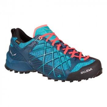 Жіночі кросівки Salewa WS WILDFIRE GTX Blue