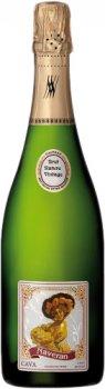 Вино игристое Naveran Cava Brut Nature Vintage 2018 белое брют 12% 0.75 л (8420870300017)