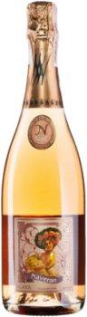 Вино игристое Naveran Brut Vintage Rose 2018 розовое брют 12% 0.75 л (810411010396)