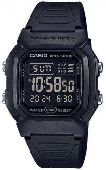 Чоловічий наручний годинник Casio W-800H-1BVES