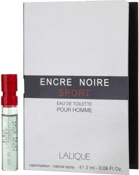 Пробник Туалетная вода для мужчин Lalique Encre Noire Sport 2 мл (ROZ6400210008)