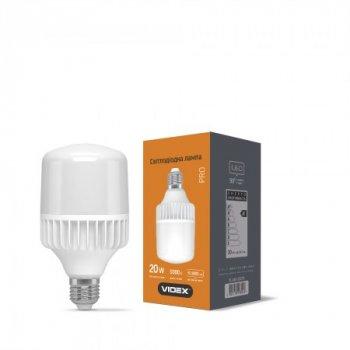 Лампа LED A65 20W E27 5000K 220V, 25086, Videx