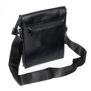 Мужская сумка через плечо из кожзама DR BOND GL 3142 black
