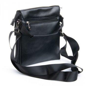 Мужская сумка через плечо из кожзама DR BOND GL 3172 black