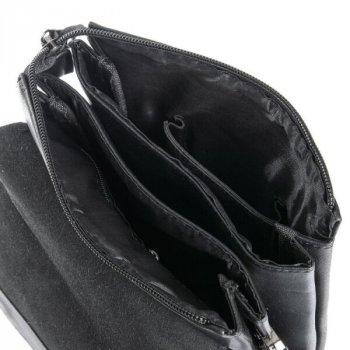 Мужская сумка через плечо из кожзама DR BOND GL 2132 black