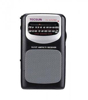 Радіоприймач Tecsun R-212T з розширеним діапазоном ФМ від 64мГц