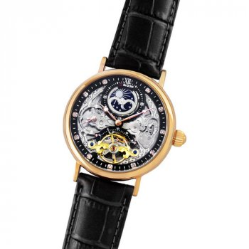 Мужские Часы Brücke J055 Black Cuprum