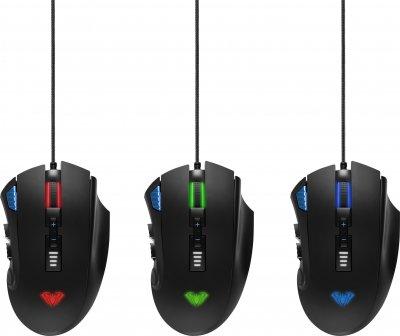 Миша Aula Reaper USB Black (6948391212814)