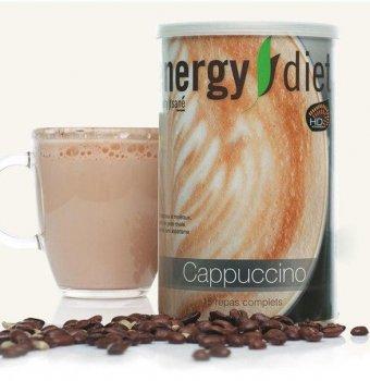Коктейль для схуднення Energy Diet HD банку Капучіно Збалансоване харчування Енерджі Дієт 450 г