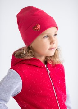 Шапка Vidoli G2014W 48 80-92 см Красная (4820161001090)