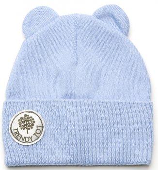 Демисезонная шапка Модный карапуз 03-00964 44 см Голубая (4824681539644)