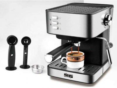 Кофемашина полуавтомат DSP Espresso Coffee Maker KA3028 с капучинатором (dps342)