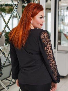 Блуза DNKA д41231 Чорна