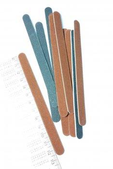 Набір полотен для натуральних нігтів 180/240 овал 12шт