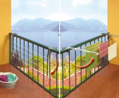 Сушилка для белья балконная Gimi Ring 20 м GM00562