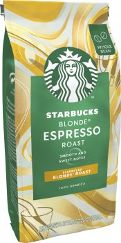 Кава Starbucks Blonde Еспресо Роуст натуральна смажена в зернах 200 г (7613036932073)