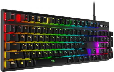 Клавіатура дротова HyperX Alloy Origins USB HyperX Blue (HX-KB6BLX-RU)