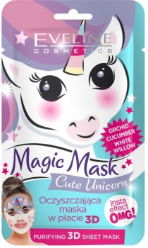 Очищающая тканевая маска Eveline Magic Mask 1 шт (5901761986280)