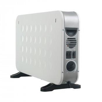 Конвектор электрический обогреватель ViLgrand VCH7143UTR_W 2 кВт 22м вентилятор TURBO ускоренный обогрев 6 режимов терморегулятор настенный напольный