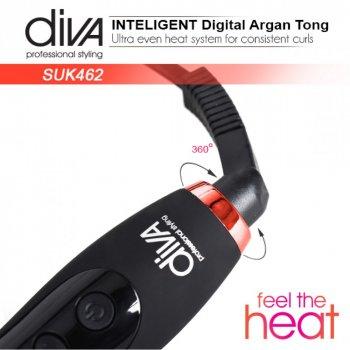 Плойка для волосся Diva D462 Argan Digital Tong 16 мм