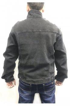 Куртка джинсова Revans 5322 чорний