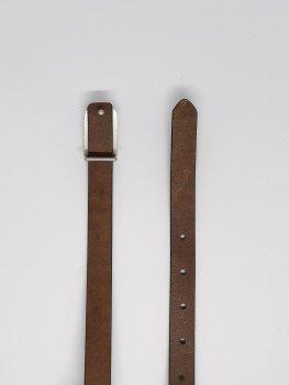 Женский кожаный ремень TIA темно-зеленый A-1020 96см