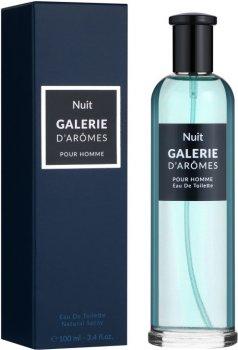 Туалетная вода для мужчин Galerie D`Aromes Nuit 100 мл (3770004118717)