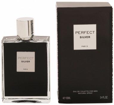 Парфюмированная вода для мужчин Geparlys Perfect Silver аналог Dior Sauvage 100 мл (3700134410931)