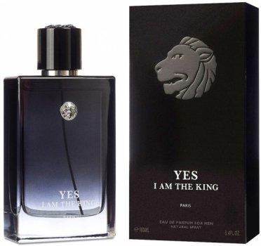 Туалетная вода для мужчин Geparlys Yes I Am The King аналог Dior Sauvage 100 мл (ROZ6400100545)