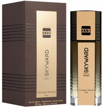 Парфюмированная вода для мужчин Giorgio Monti Skyward XVII Gold 100 мл (3282441671620)