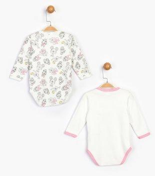 Боди Disney Minnie Mouse MN16077 Бело-розовое