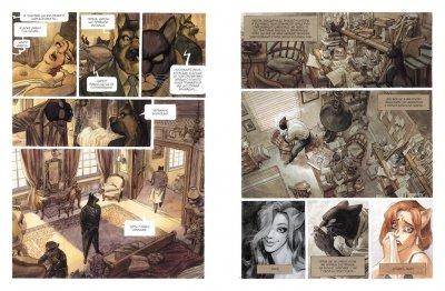 Комікс Рідна мова Блексед. Книга 1 Десь серед тіней. Арктична нація