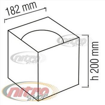 Світильник стельовий світлодіодний LED Horoz Electric SANDRA-SQ15/XL 15Вт (~120Вт) 220В 4200K Білий (016-045-1015)