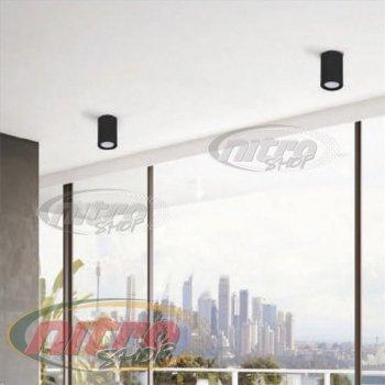 Світильник стельовий світлодіодний LED Horoz Electric SANDRA-5/XL 5Вт (~40Вт) 220В 4200K Чорний (016-043-1005)