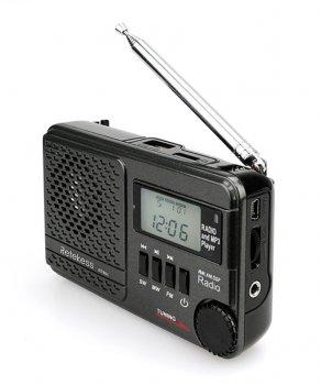 Радиоприемник Retekess TR601 цифровое радио DSP тюнер с USB/SD плеером, часы