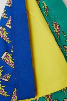 Труси-шорти H&M 564312 3 шт. Зелені/Сині/Жовті