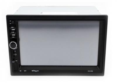Автомагнитола CAR 2din 7021 с сенсорным экраном 7 дюймов, MP5, Bluetooth, USB, FM, AUX, радиатором охлаждения