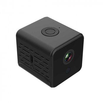 Мини ip камера для видеонаблюдения PoliceCam PC-5115 А 12 WIFI IP видеорегистратор Black