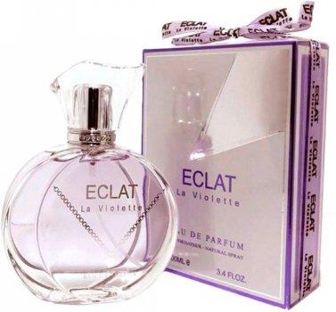 Парфюмированная вода для женщин Fragrance World Eclat La Violette аналог Lanvin Eclat D'Arpege 100 мл (6291106480429)