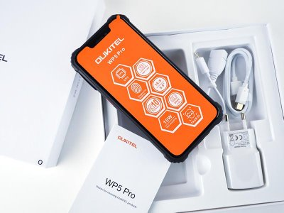 Мобильный телефон Oukitel WP5 (4+64GB, АКБ 8000 мАч) Pro Yellow
