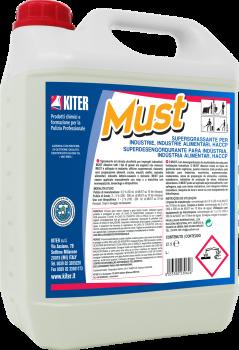 Потужний знежирювач для харчової промисловості Kiter Must 5 л, ХАССП