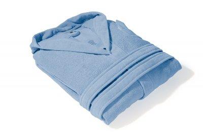 Махровый банный халат PHP Joy Mediterraneo синий