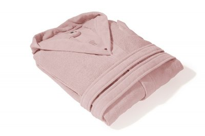 Махровый банный халат PHP Joy Fragola розовый