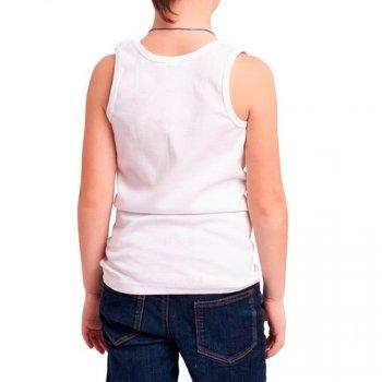 Майка для мальчика НАТАЛЮКС белый (21-3101 Майка мальч.)
