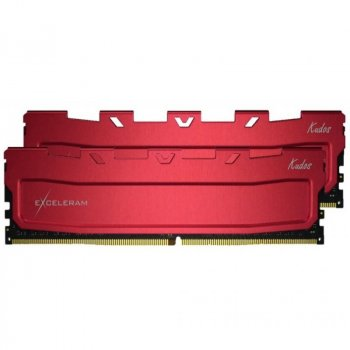 Модуль пам'яті для комп'ютера DDR4 64GB (2x32GB) 2400 MHz Red Kudos eXceleram (EKRED4642417CD)