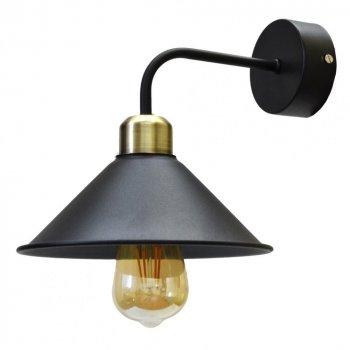 Бра вінтажне в стилі лофт NL 1211-1 Чорний